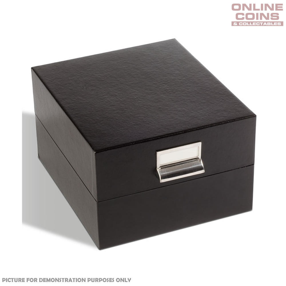 Lighthouse Black Archive Box Logik A5 - Perfect for Carded Coins and Postcards