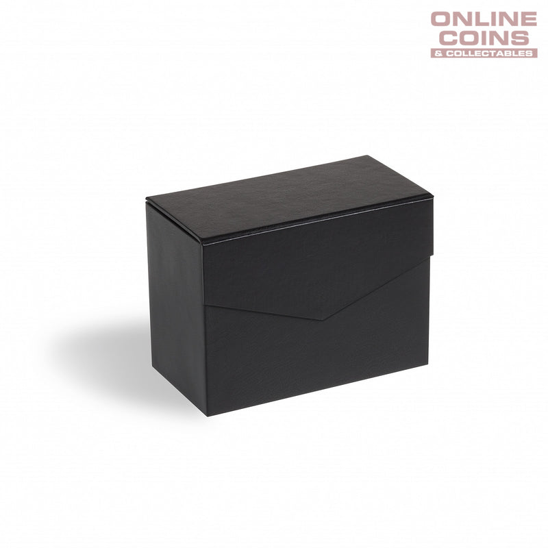 Lighthouse Mini Black Archive Box Logik C6 - Perfect for Carded Coins and Postcards