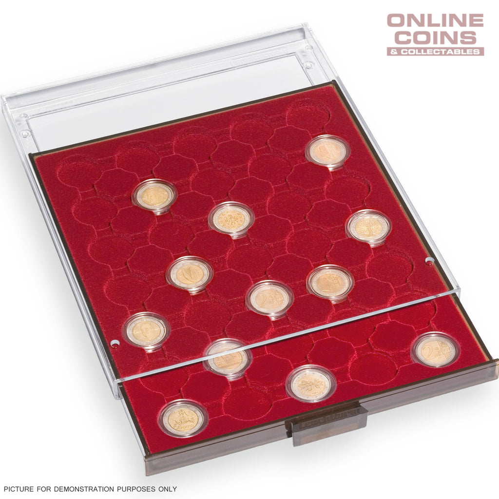 Lighthouse MBCAPS19 Coin Drawer / Tray 63 Round Slots For 19mm Capsules - 6d
