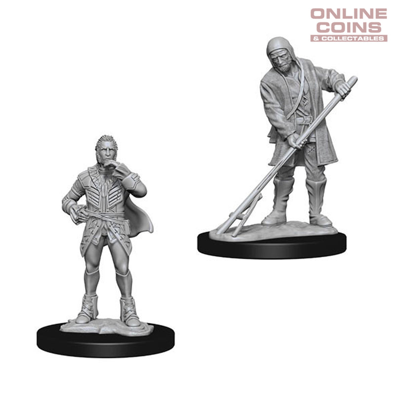 Pathfinder Deep Cuts Unpainted Miniatures Farmer/Aristocrat - WizKids