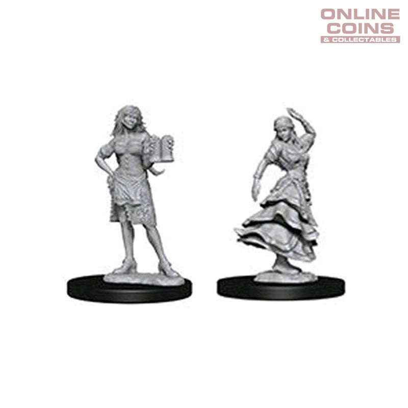Pathfinder Deep Cuts Unpainted Miniatures Female Bartender/Dancing Girl - WizKids