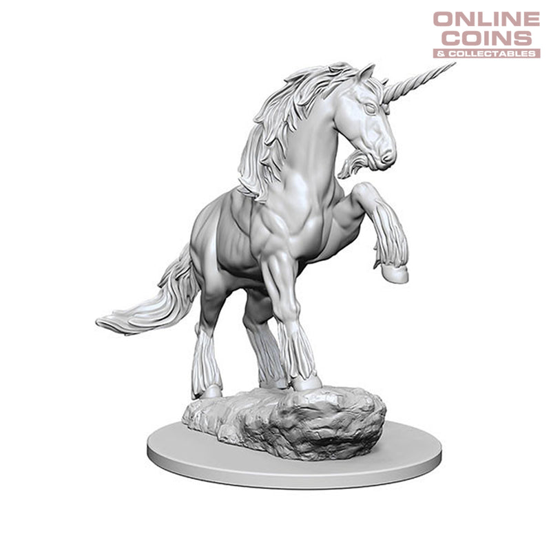 Pathfinder Deep Cuts Unpainted Miniatures Unicorn - WizKids