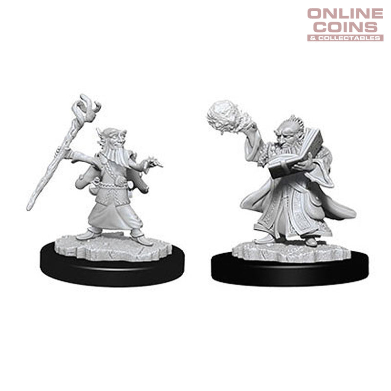 D&D Nolzurs Marvelous Unpainted Miniatures Male Gnome Wizard - WizKids