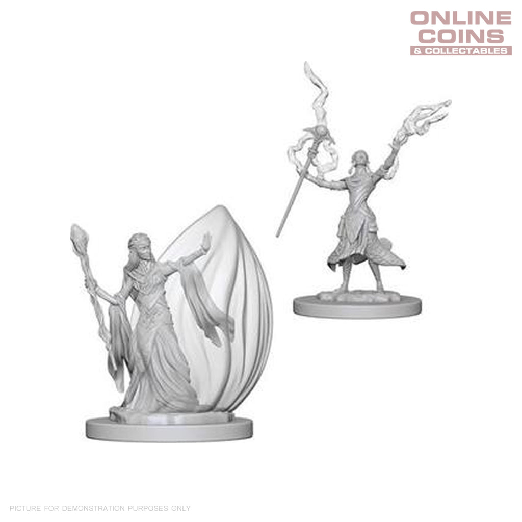 D&D Nolzurs Marvelous Unpainted Miniatures Elf Female Wizard - WizKids