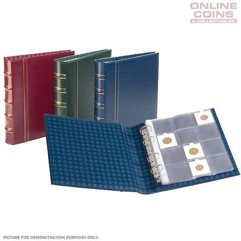 Lighthouse - Classic Optima Binder for Coin Holders Without Slipcase - Red