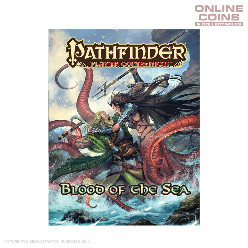 Pathfinder Players Companion Blood of the Sea Handbook Soft Cover