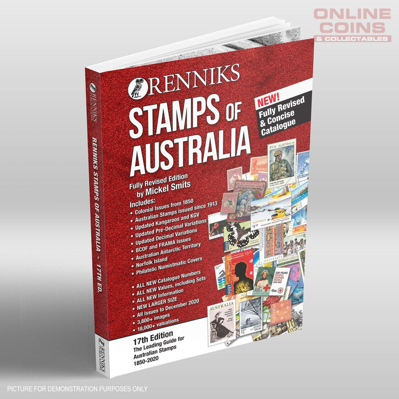 Renniks Stamps of Australia 17th Edition  - NEW EDITION
