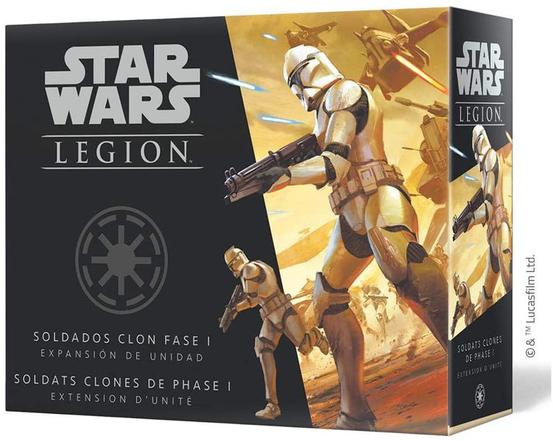 Star Wars Legion - Phase 1 Clone Troopers