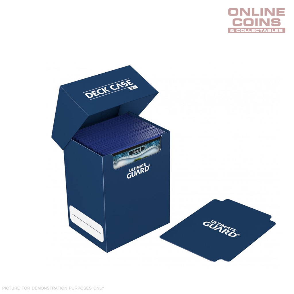Deck Box Ultimate Guard Deck Case 80+ Standard Size DARK BLUE