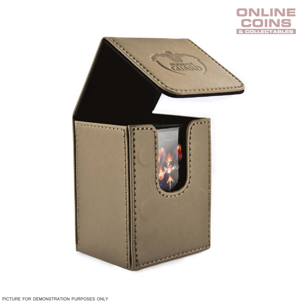 Ultimate Guard FLIP DECK CASE 80+ STANDARD SIZE LEATHERETTE - SAND