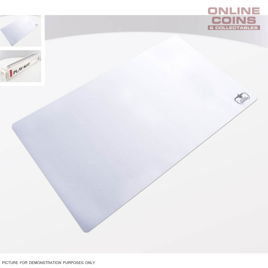 Ultimate Guard Play Mat Play-Mat 61cm x 35cm Monochrome - WHITE