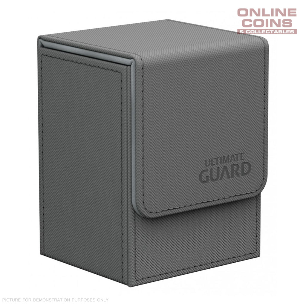 Ultimate Guard FLIP DECK CASE 80+ STANDARD SIZE XENOSKIN - GREY