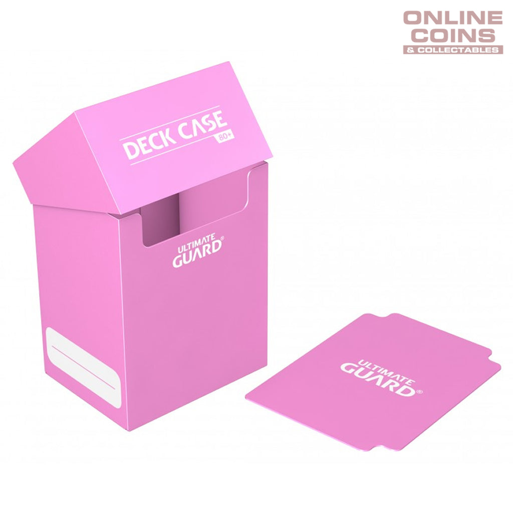 Deck Box Ultimate Guard Deck Case 80+ Standard Size PINK