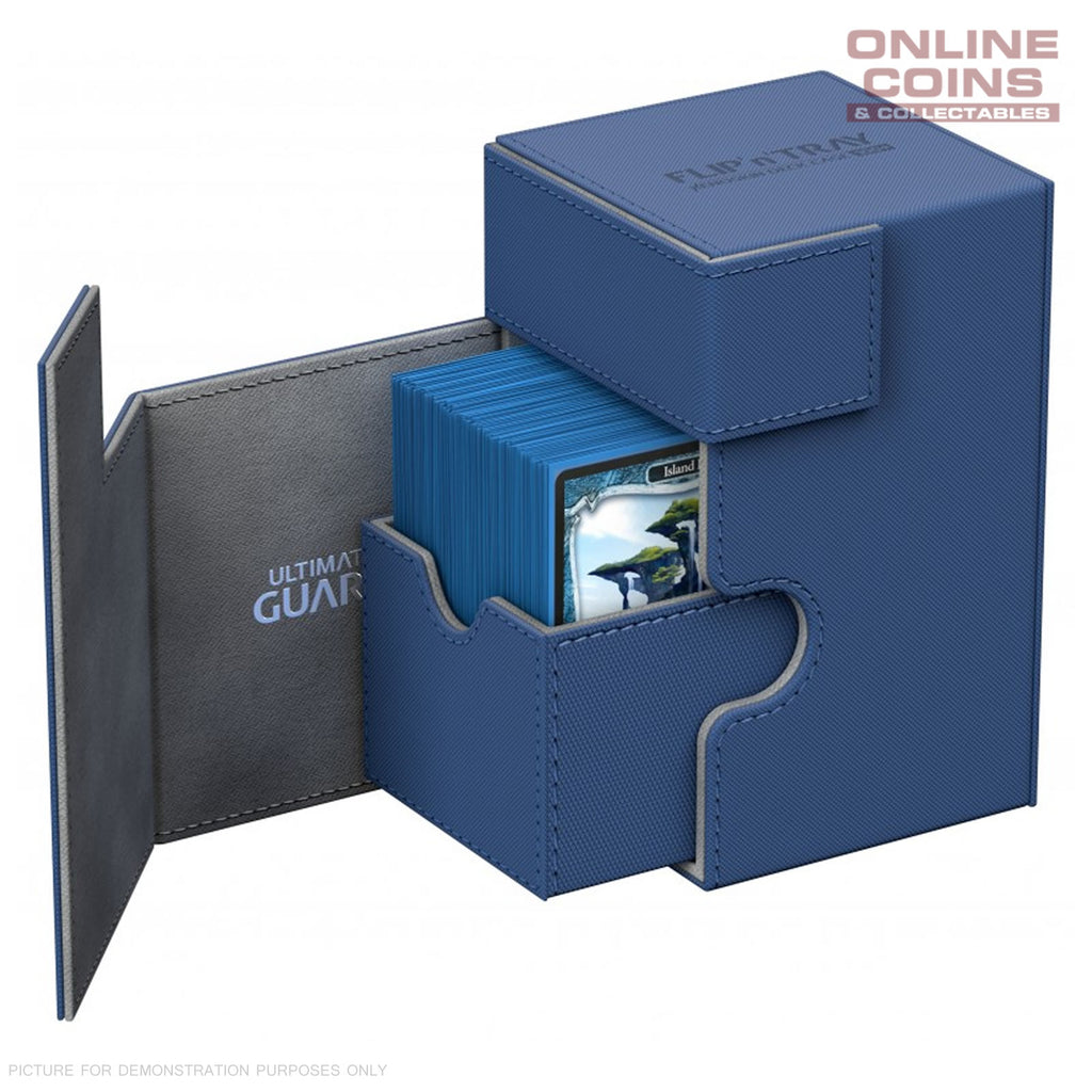 Ultimate Guard FLIP'n'TRAY XENOSKIN™ DECK CASE 100+ BLUE