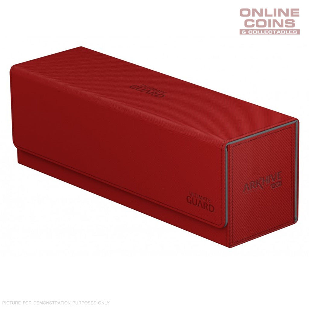 Ultimate Guard ArkHive™ 400+ Red Trading Card Storage Box