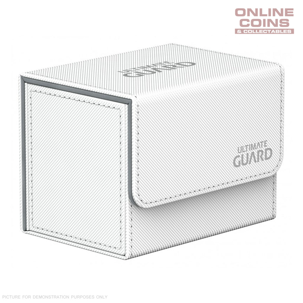 Ultimate Guard SIDEWINDER DECK CASE 80+ STANDARD SIZE XENOSKIN - WHITE