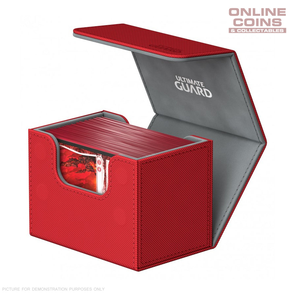 Ultimate Guard SIDEWINDER DECK CASE 80+ STANDARD SIZE XENOSKIN - RED