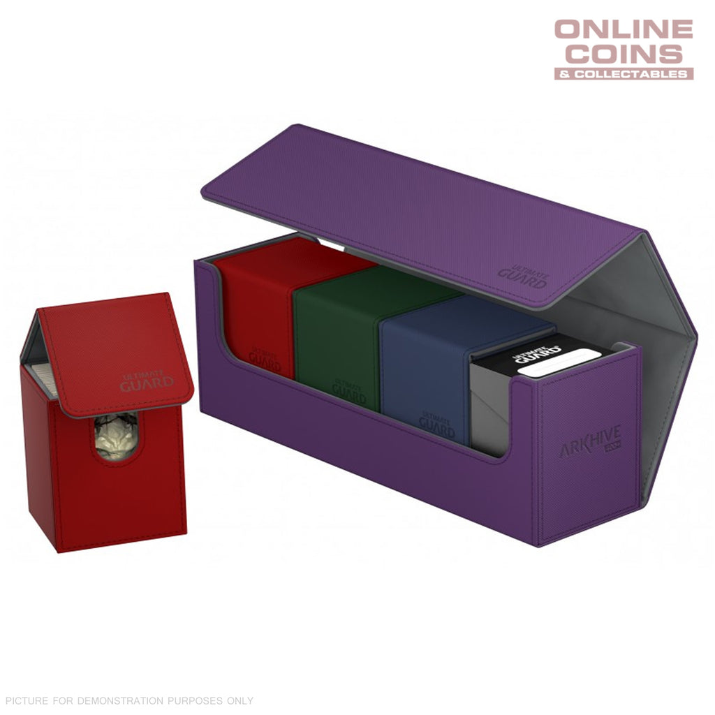 Ultimate Guard ArkHive™ 400+ Purple Trading Card Storage Box