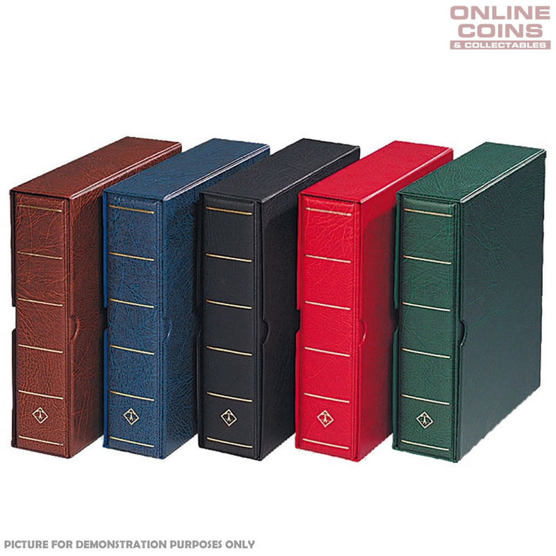 Lighthouse Vario G Large Binder and Slipcase For Banknotes and Stamps - Red