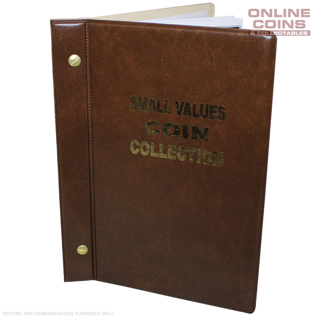 VST Australian Small Values Coin Album 1966-2018 BROWN - 1c, 2c, 5c and 10c