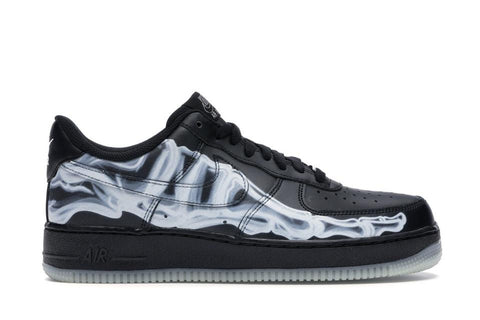 AF1 Low Black Skeleton