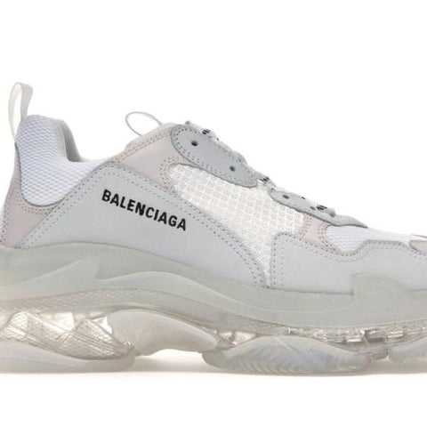 TRIPLE S TRIPLE WHITE CLEAR SOLE