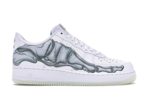 AF1 Low White Skeleton