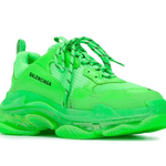 TRIPLE S GREEN CLEAR SOLE