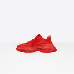 TRIPLE S RED CLEAR SOLE