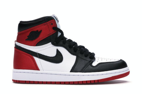 AJ 1 Retro High Satin Black Toe