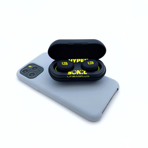 HyperSonic Lite - 3D Hyper Definition True Wireless In Ear Speakers (iPX6, Volume Control)