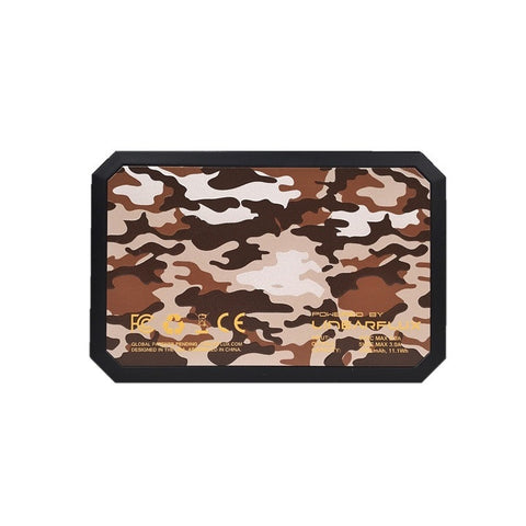 CAMO DESERT LithiumCard PRO — with Apple Lightning connector