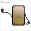 POKECHARGED LithiumCard PRO w/ Apple Lightning connector - includes FREE USB FAN AND LIGHT