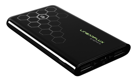Graphene 10K HyperCharger - Jet Black - For iPhone and Android