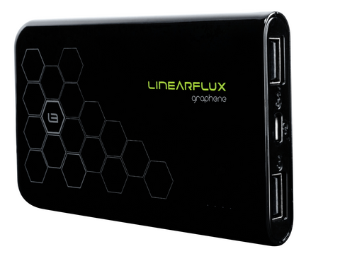 Graphene 10K HyperCharger (Jet Black) - For iPhone and Android - w/ FREE NanoStik PRO