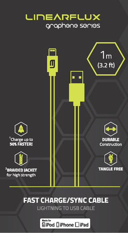 Graphene Series - Ultra High Speed - Apple Lightning Cable