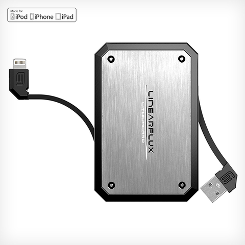 LithiumCard PRO — with Apple Lightning connector