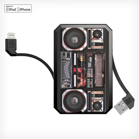 BOOMBOX LithiumCard PRO — with Apple Lightning connector