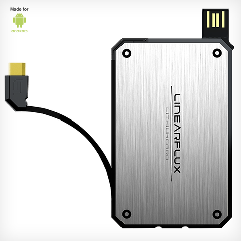 LithiumCard Original - with microUSB connector