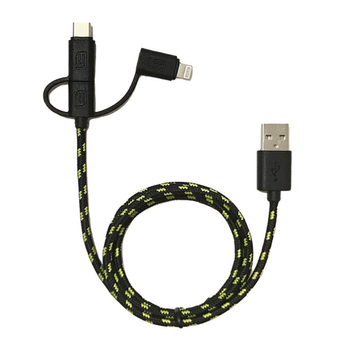 Graphene Series - Ultra High Speed - Triton 3-in-1 Cable