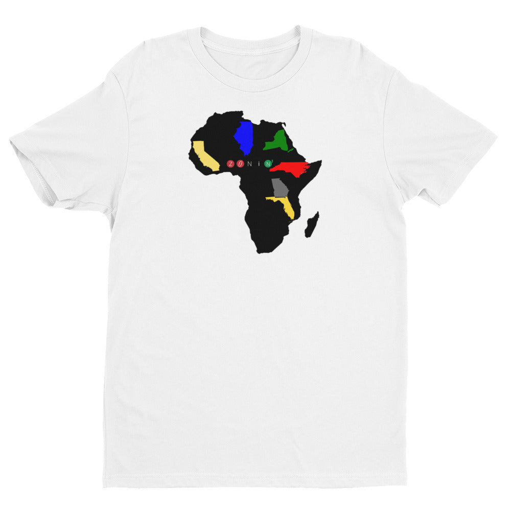 Zonin' States of Africa T-Shirt