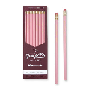 Goal Getter Pencil Set