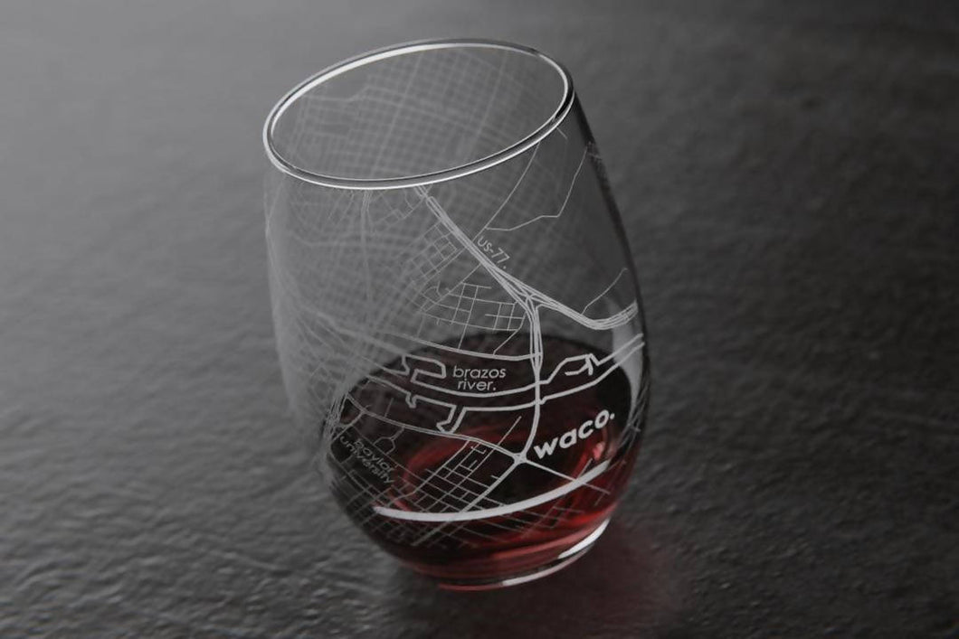 Waco Wine Glass