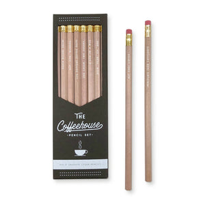Coffeehouse Pencil Set