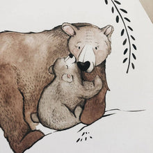 Load image into Gallery viewer, Bear Mama & Baby