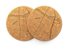 Load image into Gallery viewer, Waco Cork Coaster (Pair)