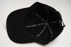 His Will Dad Cap (Black)