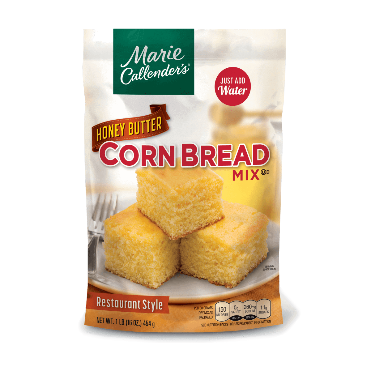 Honey Butter Corn Bread Mix - 16 oz