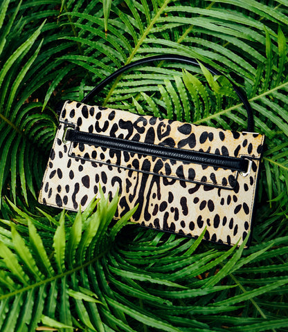CHEETAH & ZEBRA PRINT HANDBAGS--SOLD