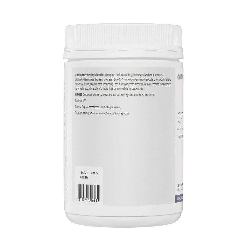Metagenics G-Tox Express 280g powder